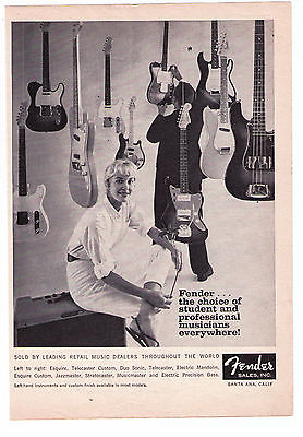 1960's Vintage Fender Guitars