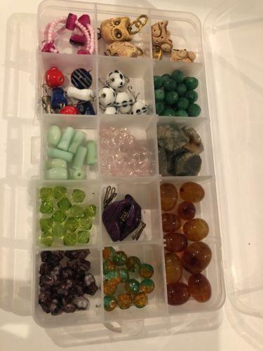 Vintage Glass Beads Variety Lot