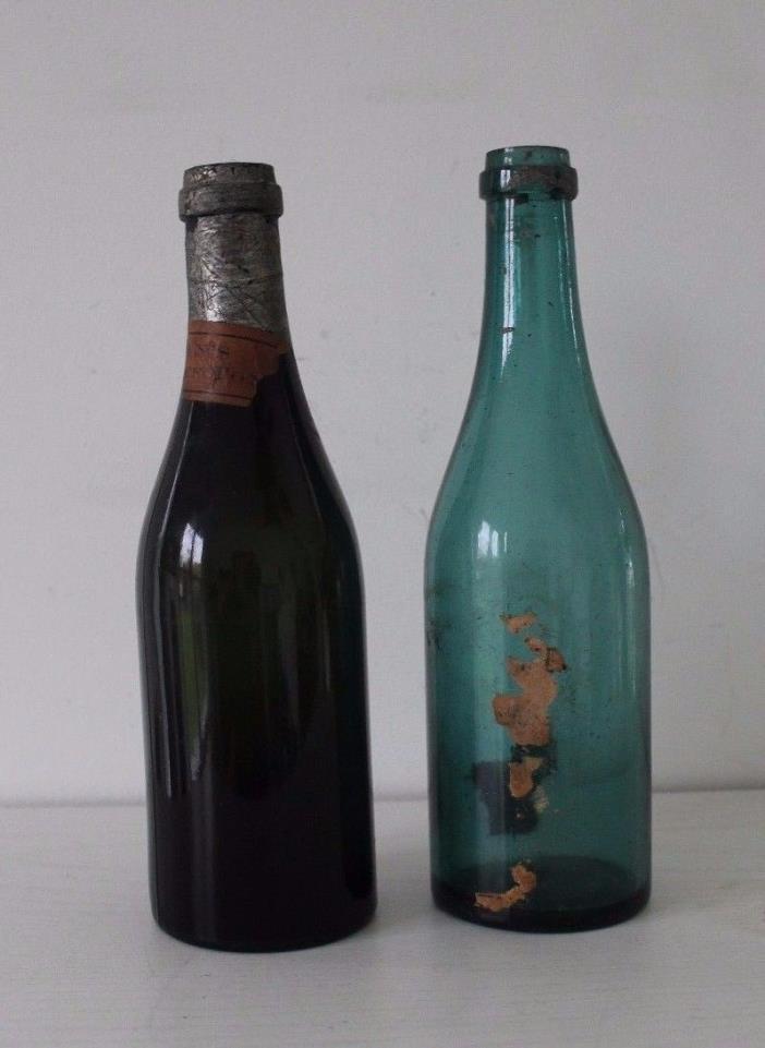2 Vintage Colden's Liquid Beef Tonic Bottles