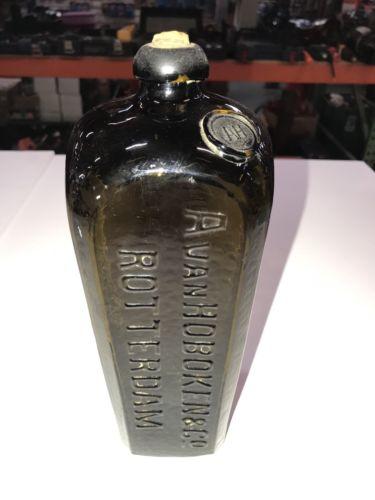 AvanHOBOKEN & Co. Rotterdam Glass Bottle
