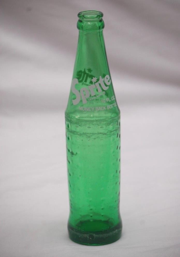 Old Vintage Coke Coca Cola Zion Park Sprite Beverage Soda Pop Bottle Glass 10 oz