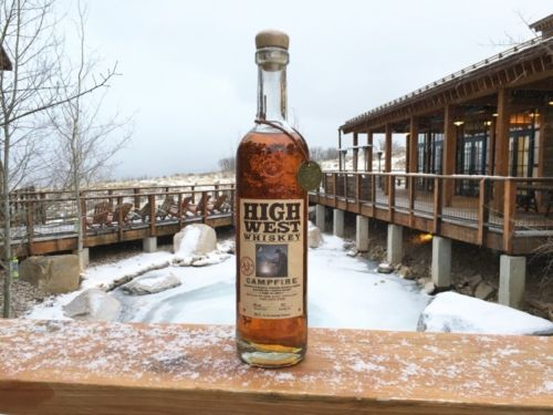 HIGH WEST Whiskey Bottle MWND Campfire Barrel Select Only 234 bottles