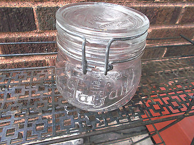 Vintage-La Parfait Super 1/2 Liter Canning Jar With Bail & Lid