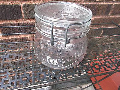 Vintage-La Parfait Super 1/2 Liter Canning Jar With Bail & Lid