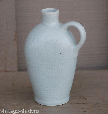 Vintage Leberhandt Munchen Bottle Jug Jar Decor Garantiert Eingefullter Inhalt