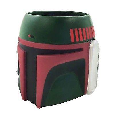 Star Wars BOBA FETT Molded Koozie Huggie Green-New