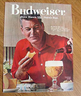1961 Budweiser Beer Ad 1961 Camel Cigarette Ad Rod Triplett Avalanche Hunter