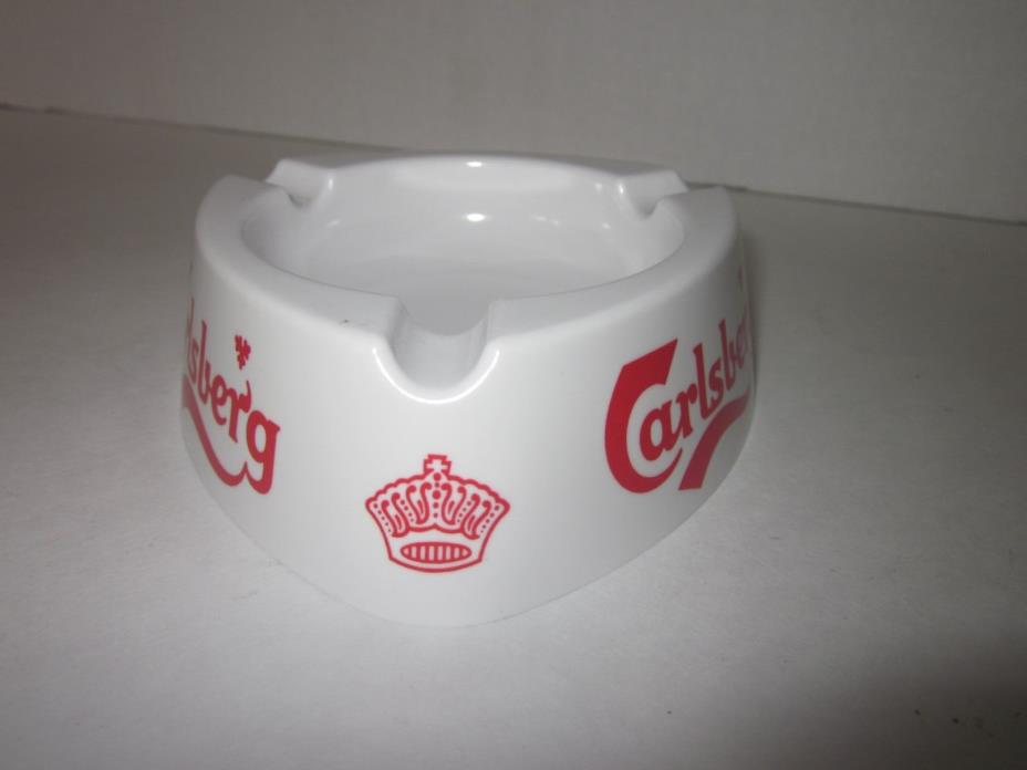 Mebel melamine ashtray Carlsberg beer Made in Italy