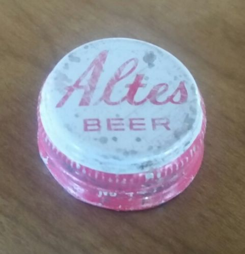 Altes beer bottle cap Very rare from 40oz bottle
