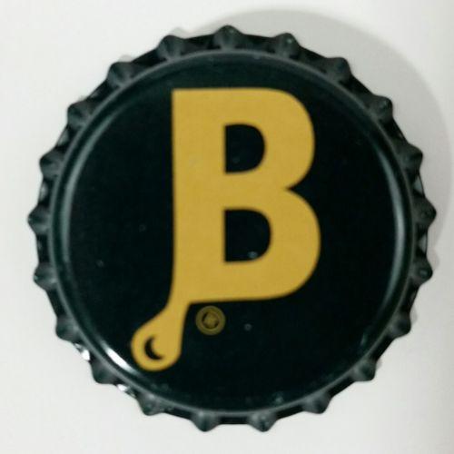 BEER BOTTLE unused (5) Caps Crown Teardrop B Brewers