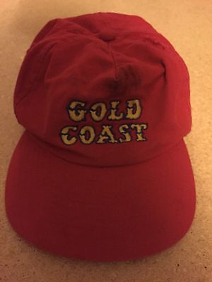 Las Vegas Gold Coast Hat. One size fits all. Red