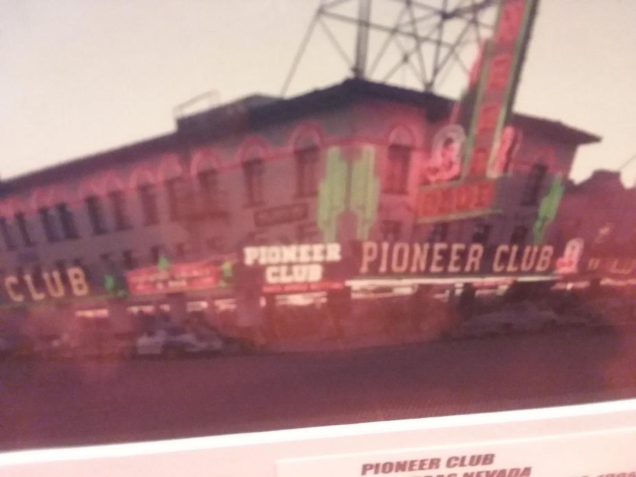 *****1940'S PIONEER CLUB CASINO*****   LAS VEGAS,NV  *****prem.matted print*****
