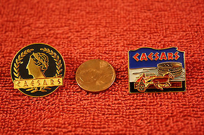 (2) Caesars (Hotel/Casino) pins...