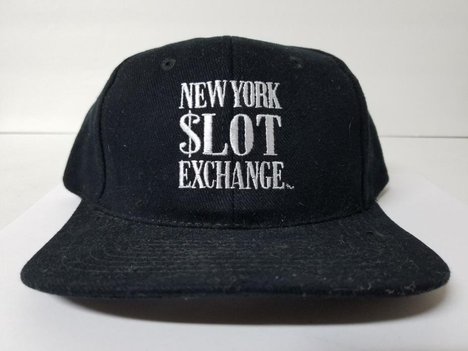 New York Slot Exchange Casino Adjustable Snapback Hat