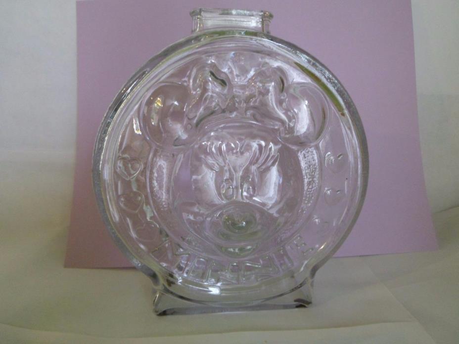 Mickey & Minnie Mouse glass Bank- The Walt Disney Company