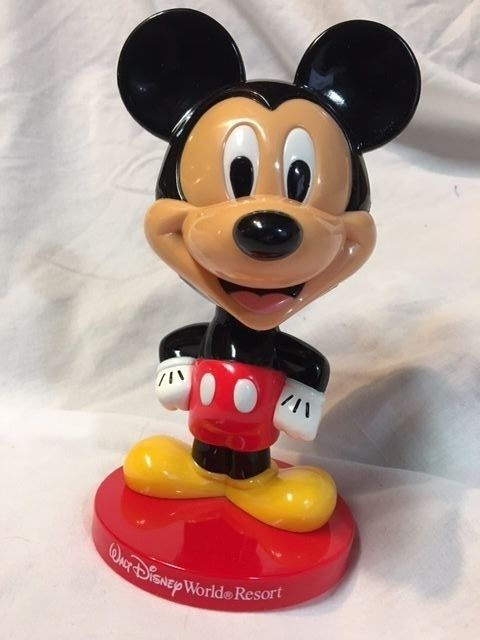 MICKEY MOUSE BOBBLE HEAD Walt Disney World Resort 8 Inches