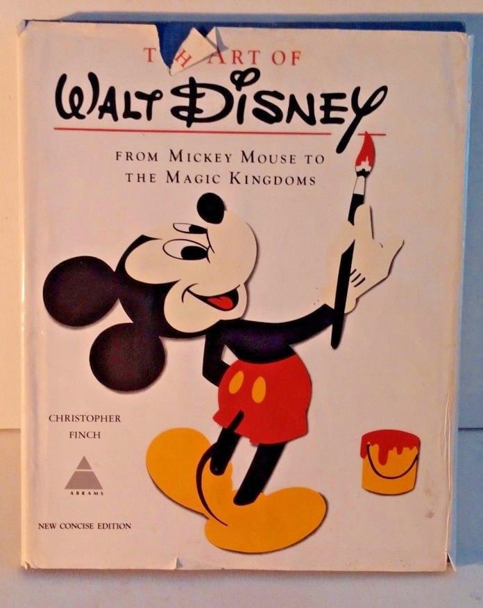 1975 Edition~ The Art of Walt Disney~ 275 Illustrations - Christopher Finch
