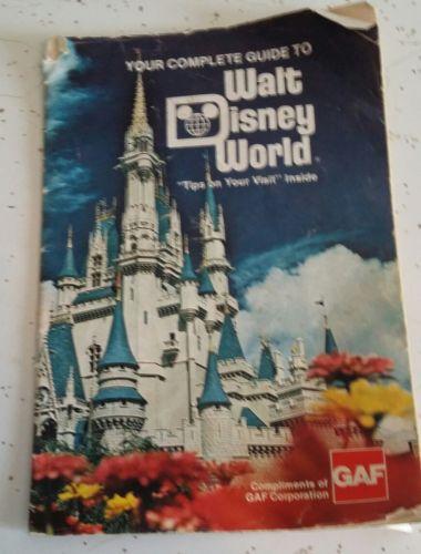 Walt Disney World Guide Book