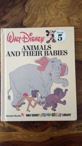 Walt Disney bantam books - Animals and their babies (Volume 5)(1984)
