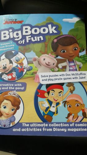 Disney Junior Big Book of Fun, Volume 1, Paperback, Brand New