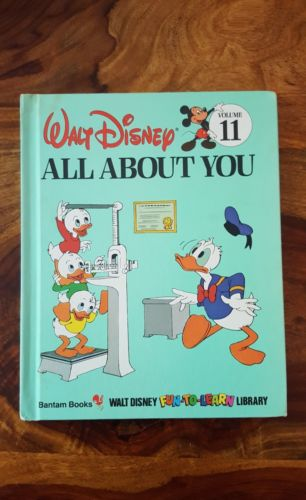 Walt Disney Bantam book - all about you (Volume 11)(1984)