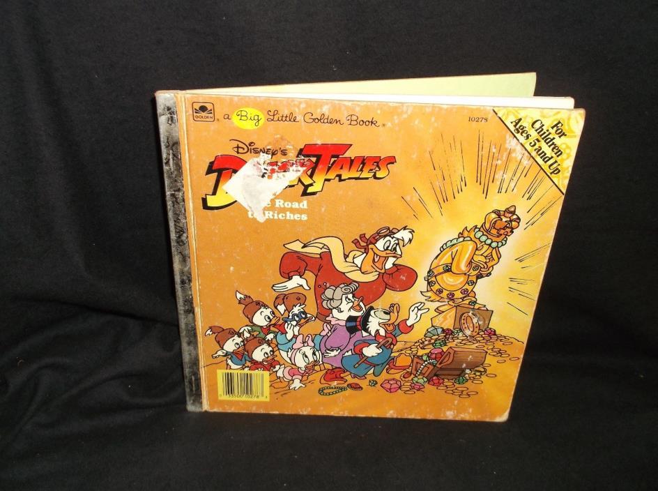 Disney's Duck Tales book 1987