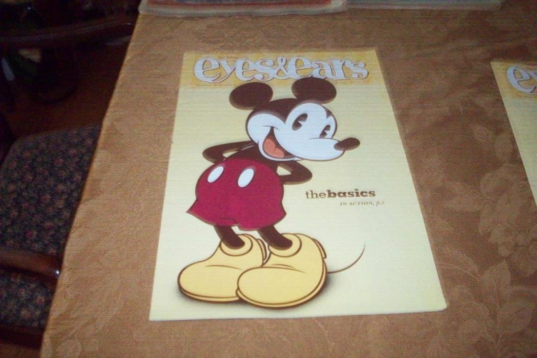 Walt Disney World Cast Member Eyes And Ears Casting MICKEY VOLUME 37 #13 GREAT