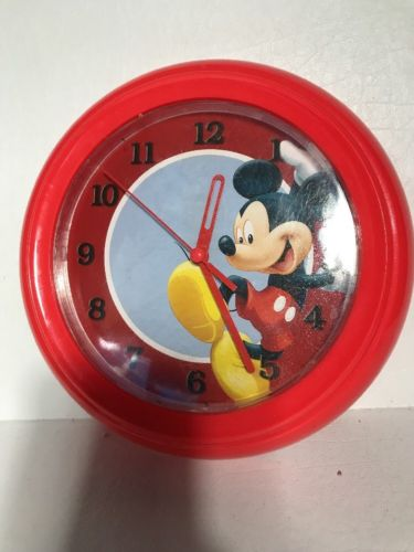Mickey Mouse Plastic Wall Clock
