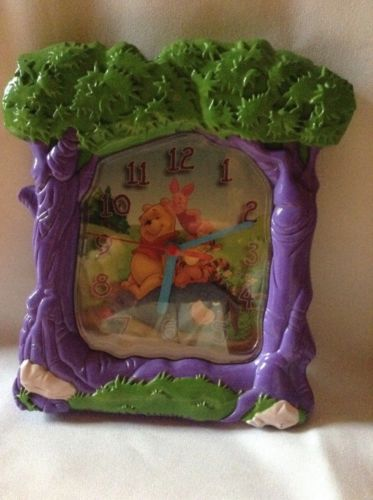 Disney Winnie The Pooh And Friends Wall Clock