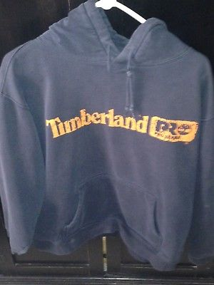 TIMBERLAND Hoodie Size XL Distressed Design