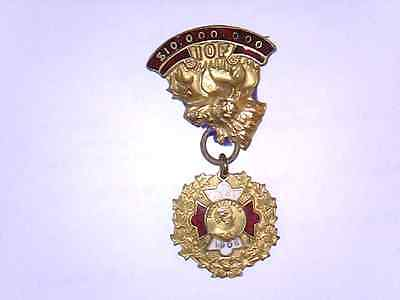 1906 Vintage  IOF Independent Order Of Foresters Pin Pinback