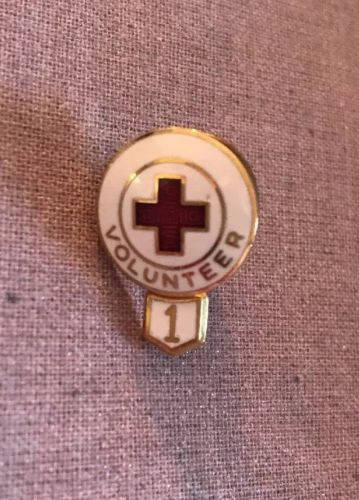 American Red Cross Vintage Volunteer 1 year