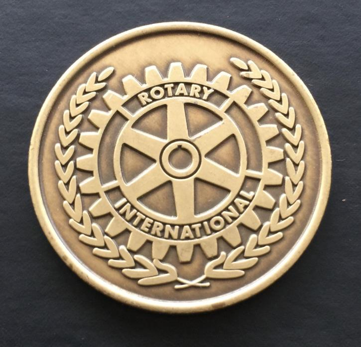 Rotary International The Four Way Test Token Truth Fair Friendship Beneficial