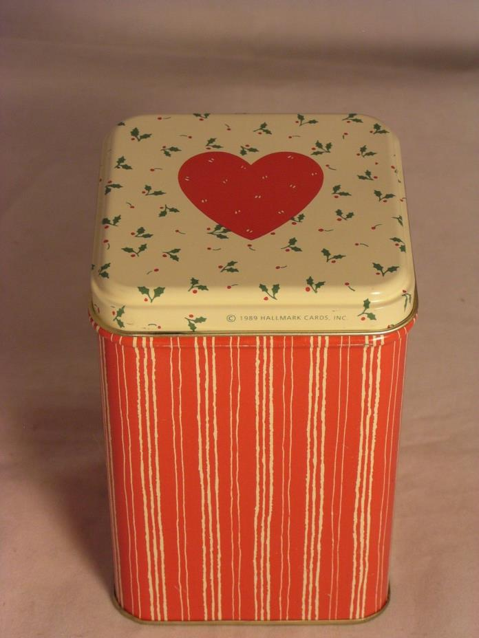 Salvation Army - METAL TRINKET BOX WITH HEART ON LID  3