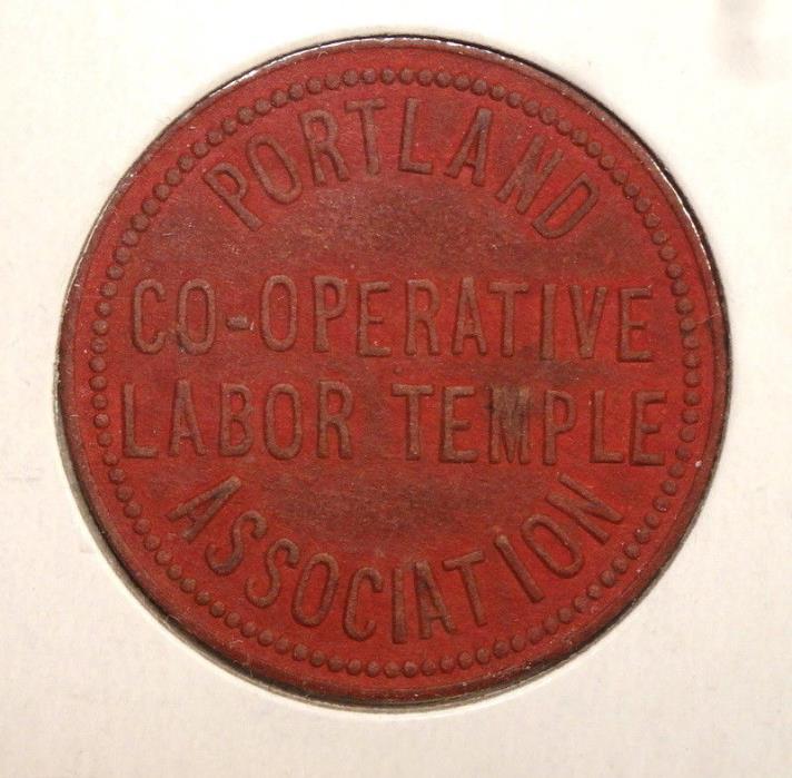 Token, Portland Co-Operative Labor Temple, Red Fiber