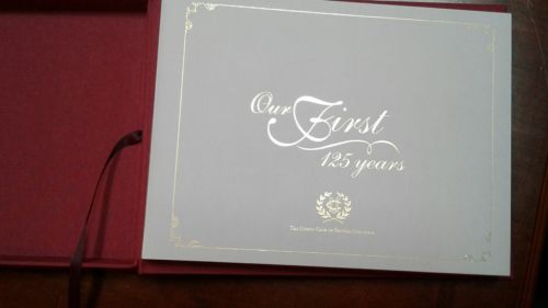 THE UNION CLUB OF BRITISH COLUMBIA 125 YEAR COMMEMORATIVE # BOOK
