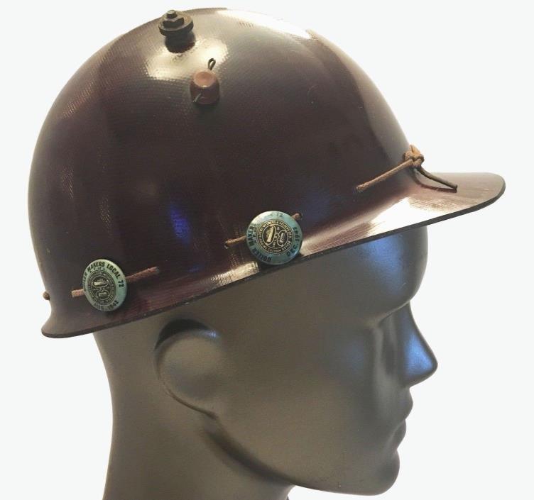 World War 11 Oregon Ship Building Boiler Makers Hardhat Union Helmet 1942