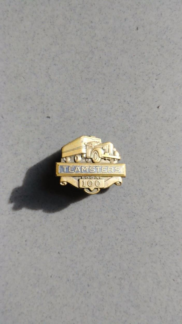 Antique 'Teamsters 100' PIN
