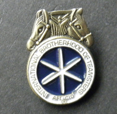 INTERNATIONAL BROTHERHOOD TEAMSTERS IBT LAPEL PIN BADGE 3/4 INCH