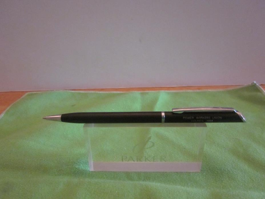 Quill Ball Point Pen - Power Workers Union Council 1994