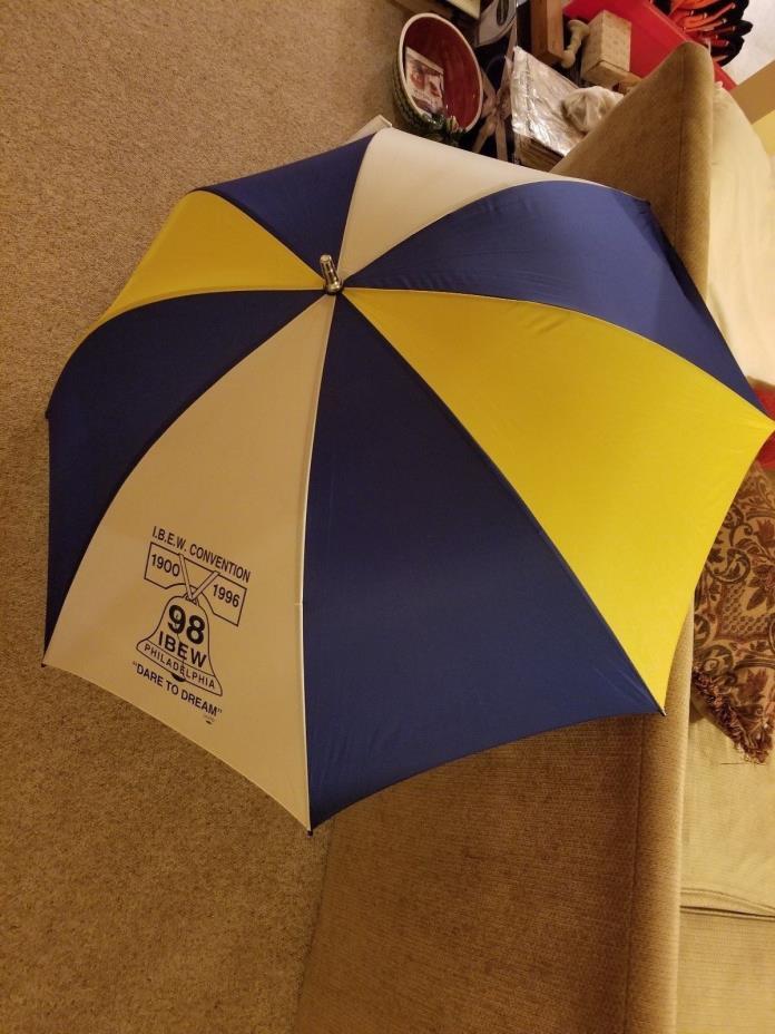 IBEW Convention Umbrella 1900-1996 98 IBEW Philadelphia