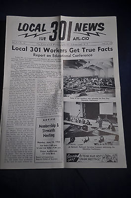 1958 Local 301 AFL-CIO Workers Get True Facts - GE, Schenectady NY
