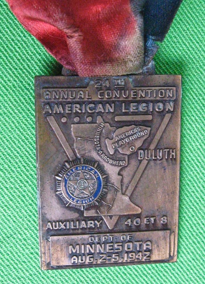 WWII American Legion 24th National Convention/1942 Duluth, MN/