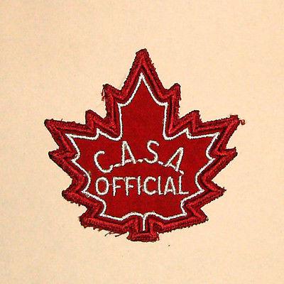 Vintage Canadian Amateur Swimming Association? (C.A.S.A). - Official Patch (