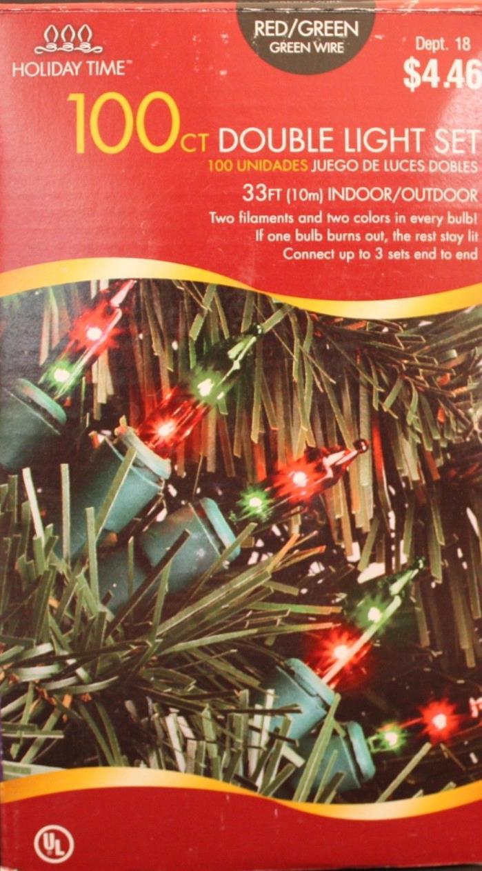 Red / Green Christmas lights