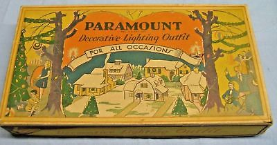 Vintage Paramount Decorative Lighting Outfit Original EMPTY Box
