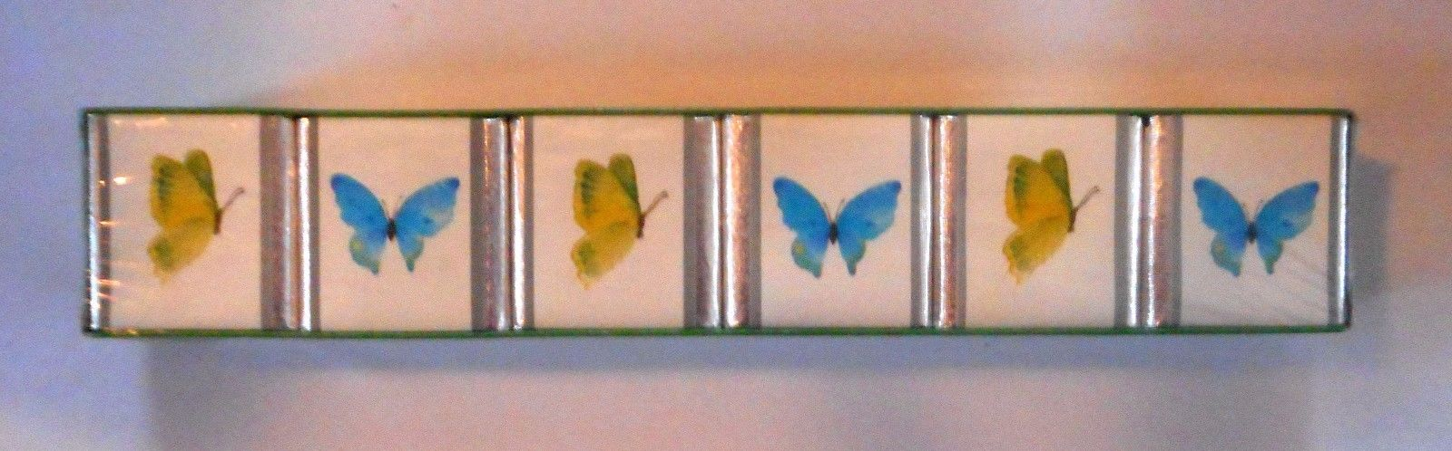 ENGLISH BATH CUBES 6 Butterflies Cambridge 9 oz NIB NEW England