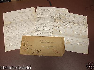 American Civil War letter 1865 Hickory Hill Virginia
