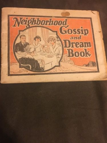 1920's Dr. Pierce's Neighborhood Gossip and Dream Book Medical Advertising