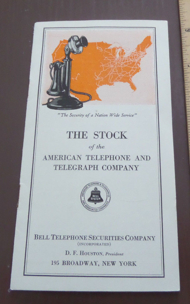 1924 The Stock of AT&T